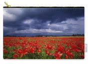 County Kildare, Ireland Poppy Field Carry-all Pouch