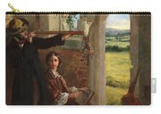 Couple Observing A Landscape Carry-all Pouch by English School