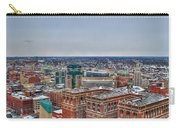 Courthouse And Statler Towers Winter Carry-all Pouch