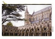 Courtyard Salisbury Cathedral - England Carry-all Pouch