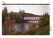 Covered Bridge At Dawn No. 1 Carry-all Pouch