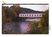 Covered Bridge At Dawn No. 2 Carry-all Pouch