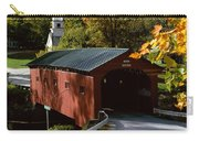 Covered Bridge In Vermont Carry-all Pouch