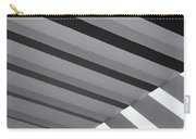 Covered B/w Carry-all Pouch