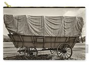 Covered Wagon Sepia Carry-all Pouch