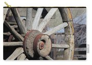 Covered Wagon Wheel Carry-all Pouch