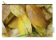 Covering The Green Carry-all Pouch by Trish Hale
