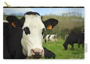 Cow Facing Camera Carry-all Pouch