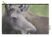 Cow Moose Carry-all Pouch