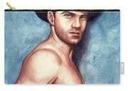 Cowboy Blue Carry-all Pouch