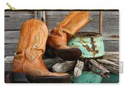 Cowboy Boots Western Still Life Carry-all Pouch