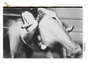 Cowboy Riding Bucking Horse  Carry-all Pouch by Garry Gay