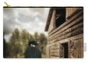 Cowboy Walking By Barn Carry-all Pouch