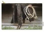 Cowboy With Guns And Rope Carry-all Pouch