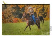 Cowgirl Carry-all Pouch by Susan Candelario