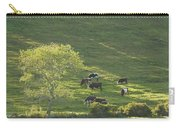 Cows On Hillside Summer In Maine Carry-all Pouch