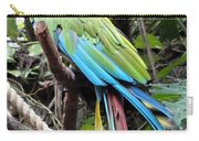Coy Parrot Carry-all Pouch