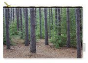 Cozy Conifer Forest Carry-all Pouch
