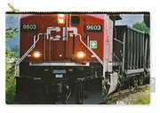 Cp Coal Train Close Up Carry-all Pouch