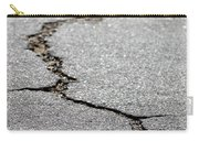 Crack In The Street Carry-all Pouch