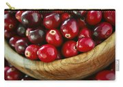 Cranberries In A Bowl Carry-all Pouch