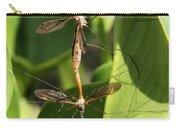 Crane Flies Mating Carry-all Pouch