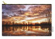 Crane Hollow Sunrise Boulder County Colorado Hdr Carry-all Pouch