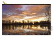 Crane Hollow Sunrise Boulder County Colorado Carry-all Pouch by James BO  Insogna