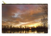 Crane Hollow Sunrise Carry-all Pouch