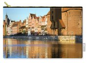 Crane In The Old Town Of Gdansk Carry-all Pouch