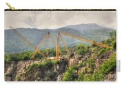 Crane On The Mountain Carry-all Pouch
