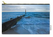 Crashing Waves At Bournemouth Beach Carry-all Pouch
