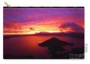 Crater Lake Fire In The Sky Carry-all Pouch