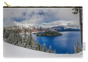 Crater Lake Panorama 1 Carry-all Pouch