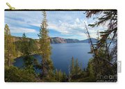 Crater Lake Through The Trees Carry-all Pouch