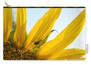 Crawling Along The Sunflower Carry-all Pouch