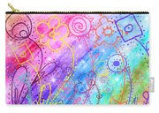 Crazy Flower Garden Carry-all Pouch