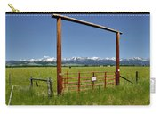 Crazy Mountain Ranch Gate Carry-all Pouch
