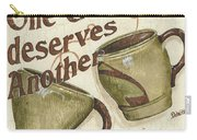 Cream Coffee 2 Carry-all Pouch