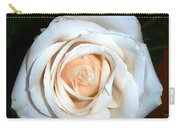 Creamy Rose Iv Carry-all Pouch