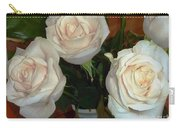 Creamy Roses II Carry-all Pouch