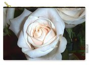 Creamy Roses IIi Carry-all Pouch