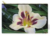 Creamy White Lily Carry-all Pouch
