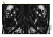 Black And White Mirror Carry-all Pouch