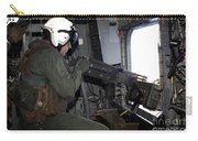 Crew Chief Fires An M2 .50-caliber Carry-all Pouch