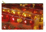 Crhistmas Decorations Carry-all Pouch by Carlos Caetano