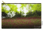 Crimson Clover Carry-all Pouch