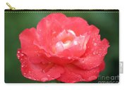 Crisp Coral Carry-all Pouch