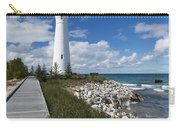 Crisp Point Lighthouse 10 Carry-all Pouch