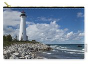 Crisp Point Lighthouse 11 Carry-all Pouch